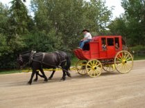 Take a carriage ride through Fort Edmonton Park