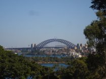 Harbour Bridge, as seen from Taronga Zoo